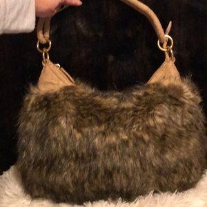 9edb5df89788 Fabulous Furs Tipped Fox Hobo Bag